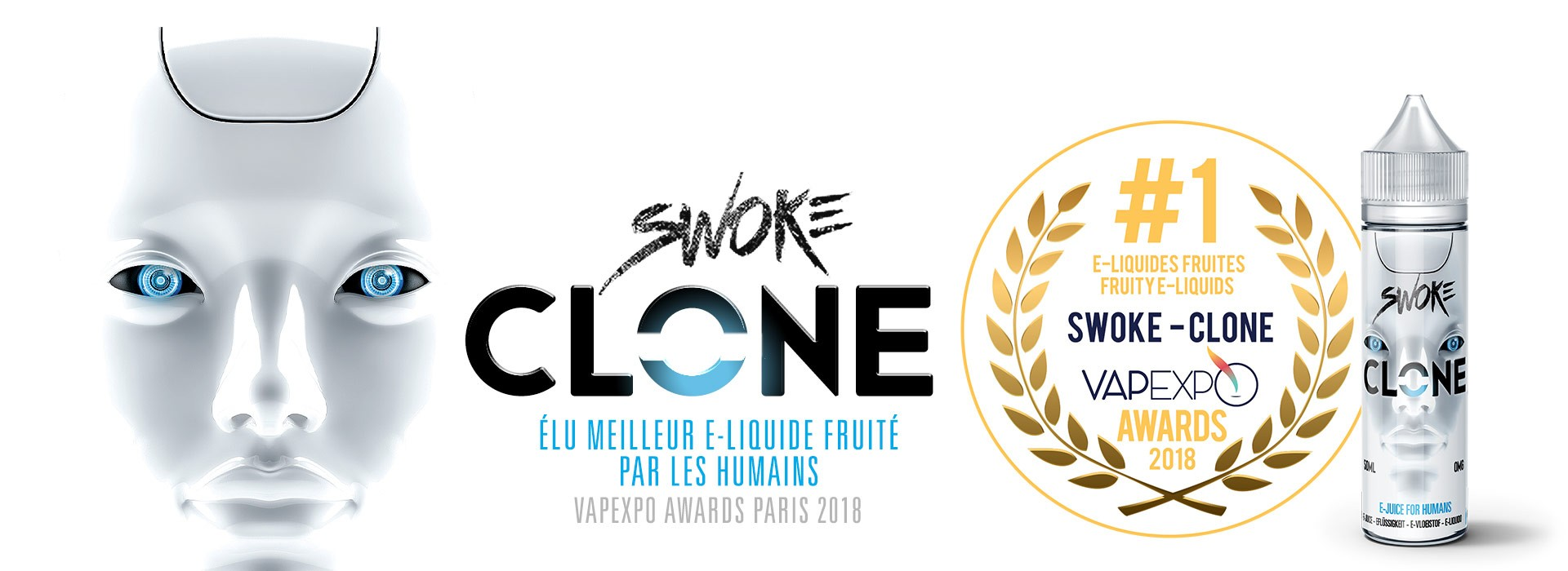 Swoke Clone - Enfin disponible pour les humains !