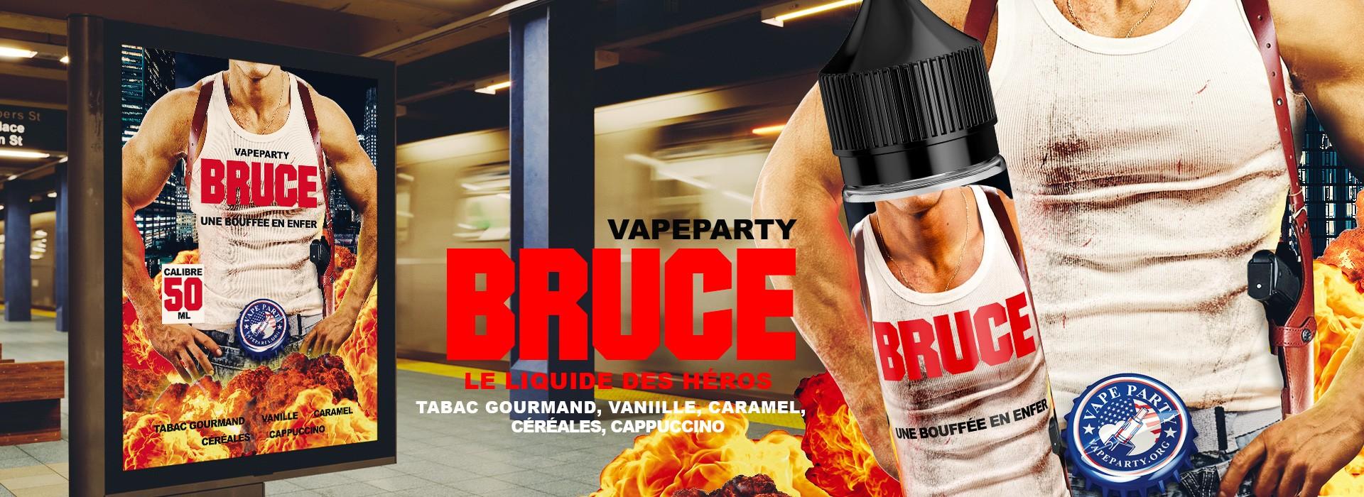 Bruce, le liquide des héros