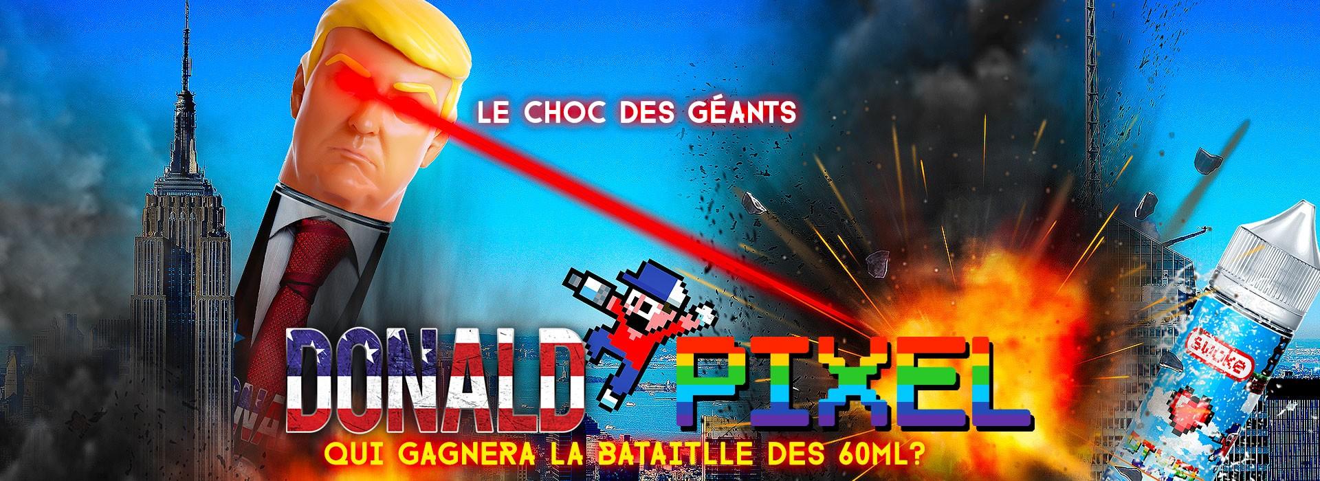 Donald vs Pixel : Le choc des géants !